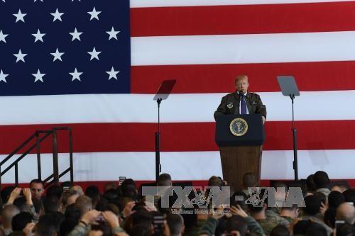 ประธานาธิบดีสหรัฐตั้งความหวังต่อการพบปะกับประธานาธิบดีรัสเซีย - ảnh 1