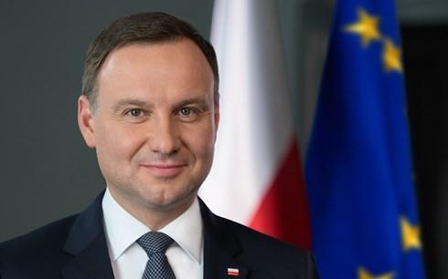 ประธานาธิบดีโปแลนด์และภริยาจะเดินทางมาเยือนเวียดนามอย่างเป็นทางการในระหว่างวันที่ 27-30 เดือนนี้ - ảnh 1