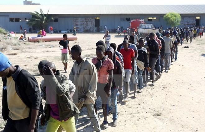 การประชุมสุดยอด AU-EU เห็นพ้องเกี่ยวกับแผนการฉุกเฉินเพื่อทำลายแก๊งค้ามนุษย์ - ảnh 1