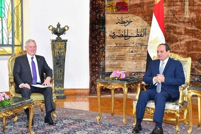 อียิปต์และสหรัฐกระชับความร่วมมือด้านกลาโหมและการต่อต้านการก่อการร้าย - ảnh 1