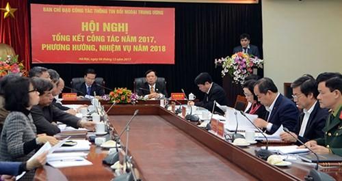 การประชุมสรุปผลงานด้านการสื่อสารต่างประเทศ - ảnh 1