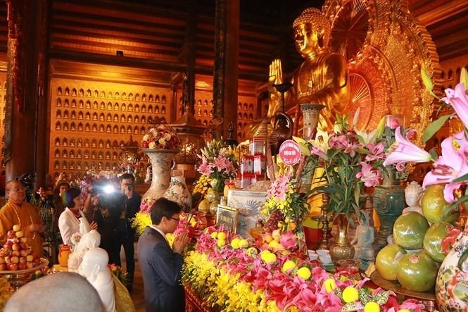 พุทธสมาคมเวียดนามเปิดเทศกาลยามวสันต์ฤดู - ảnh 1