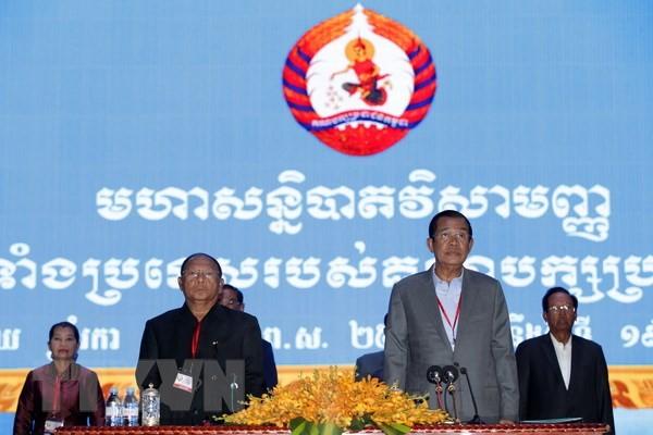 กัมพูชาเริ่มการเลือกตั้งสมาชิกวุฒิสภาสมัยที่ 4 - ảnh 1