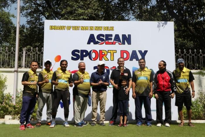 วันงานกีฬาอาเซียนในประเทศอินเดีย - ảnh 1