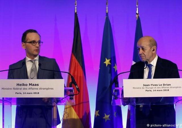 ฝรั่งเศส อังกฤษและเยอรมนียืนยันว่า จะธำรงข้อตกลงนิวเคลียร์กับอิหร่าน - ảnh 1