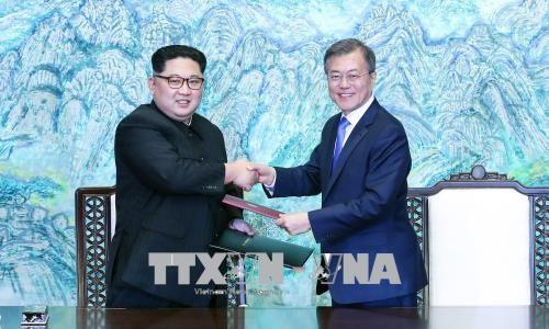 การรวม 2 ภาคเกาหลีเป็นเอกภาพขึ้นอยู่กับหลักการเอกราชของประชาชาติ - ảnh 1