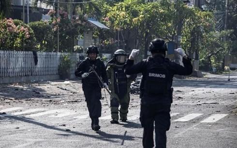 อินโดนีเซียประกาศภาวะเตือนภัยในระดับสูงสุด - ảnh 1