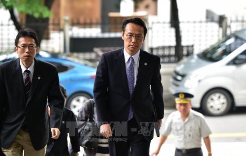 ญี่ปุ่นส่งเจ้าหน้าที่ทางการทูตไปยังสิงคโปร์เพื่อติดตามการพบปะสุดยอดระหว่างสหรัฐกับเปียงยาง - ảnh 1