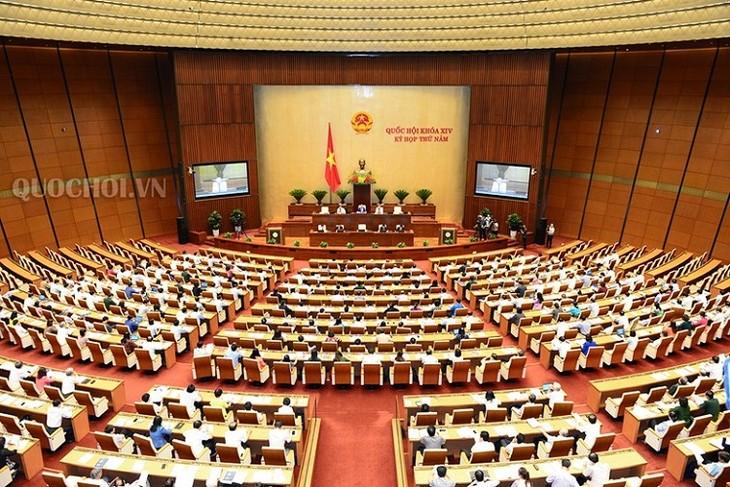 ที่ประชุมสภาแห่งชาติหารือเกี่ยวกับสถานการณ์เศรษฐกิจ - สังคม - ảnh 1
