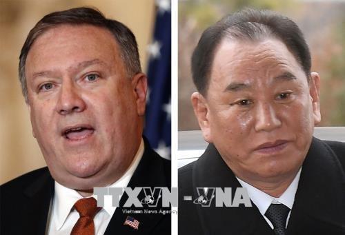 ความพยายามเตรียมพร้อมให้แก่การพบปะสุดยอดระหว่างสหรัฐกับสาธารณรัฐประชาธิปไตยประชาชนเกาหลี - ảnh 1