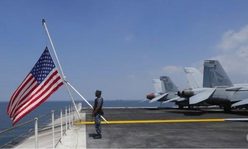 สหรัฐยืนยันว่า จะค้ำประกันการเดินเรืออย่างเสรีในทะเลตะวันออก - ảnh 1