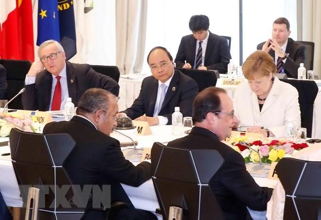 เวียดนามได้รับเชิญเข้าร่วมการประชุมผู้นำจี7 - ảnh 1