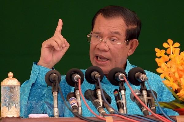 นายกรัฐมนตรีกัมพูชาตั้งเป้าหมายว่า จะบริหารประเทศอีก 2 สมัย - ảnh 1