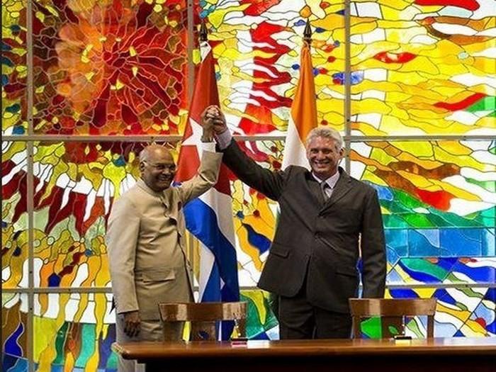 Kuba dan India berkomitmen  memperkuat hubungan kerjasama ekonomi - ảnh 1