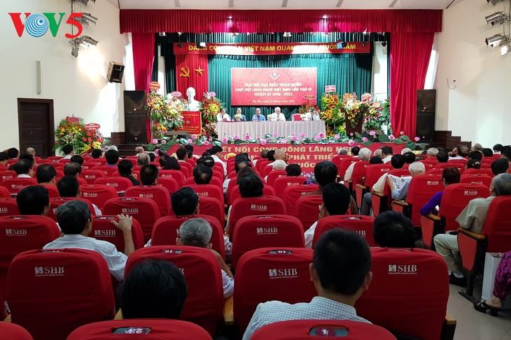 การประชุมใหญ่สมาพันธ์หมู่บ้านศิลปาชีพเวียดนามสมัยที่ 4 - ảnh 1