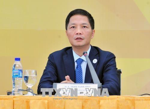 ภารกิจของรัฐมนตรีพาณิชย์และอุตสาหกรรมเจิ่นต๊วนแองนอกรอบการประชุมรัฐมนตรี RCEP - ảnh 1