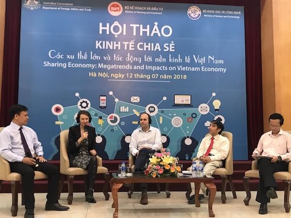 เวียดนามต้องมีนโยบายที่เหมาะสมเพื่อส่งเสริมเศรษฐกิจแบ่งปัน - ảnh 1