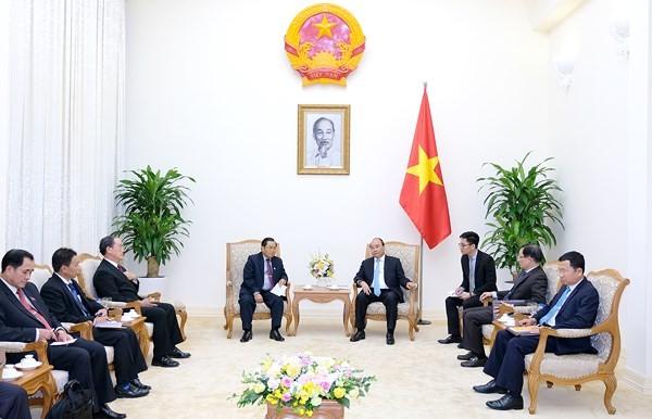 ประธานประเทศเจิ่นด่ายกวางให้การต้อนรับรองประธานรัฐสภาลาว - ảnh 2