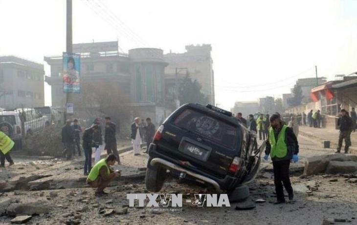 กลุ่มไอเอสออกมาแสดงความรับผิดชอบต่อเหตุโจมตีที่มุ่งเป้าไปยังรองประธานาธิบดีอัฟกานิสถาน - ảnh 1