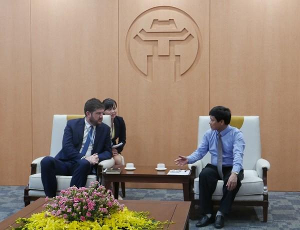 กรุงฮานอยและยูเนสโกกระชับความร่วมมือในการอนุรักษ์และส่งเสริมคุณค่ามรดกทางวัฒนธรรม - ảnh 1