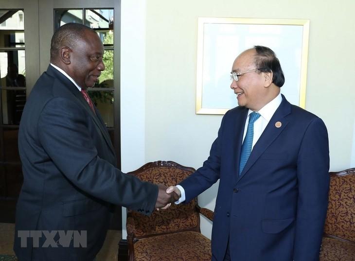 กระชับความร่วมมือในหลายด้านระหว่างเวียดนามกับแอฟริกาใต้ - ảnh 1