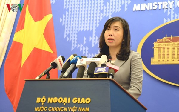 """ปฏิกิริยาของเวียดนามต่อการที่จีนจัดกิจกรรมรำลึกครบรอบ6  ปีการจัดตั้งเขตที่เรียกว่า """"นครซานซา""""  - ảnh 1"""