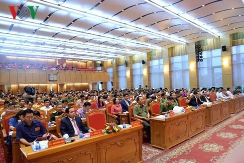 ประธานประเทศเข้าร่วมการประชุมตัวอย่างดีเด่นในขบวนการปวงชนพิทักษ์รักษาความมั่นคงของปิตุภูมิ - ảnh 1