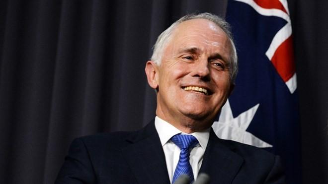 นายกรัฐมนตรีออสเตรเลีย ผ่านการลงคะแนนไว้วางใจในการประชุมสมาชิกพรรคเสรีนิยมแห่งออสเตรเลีย - ảnh 1