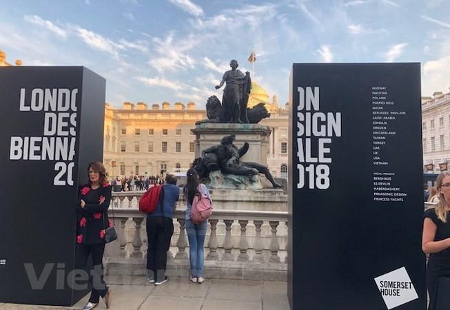 เวียดนามเข้าร่วมงานนิทรรศการ London Design Biennale 2018 - ảnh 1