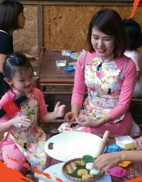 กิจกรรมต้อนรับเทศกาลไหว้พระจันทร์ ที่ สระวัน มีส่วนร่วมอนุรักษ์เอกลักษณ์วัฒนธรรมของเทศกาลไหว้พระจันทร์ในกรุงฮานอย - ảnh 3