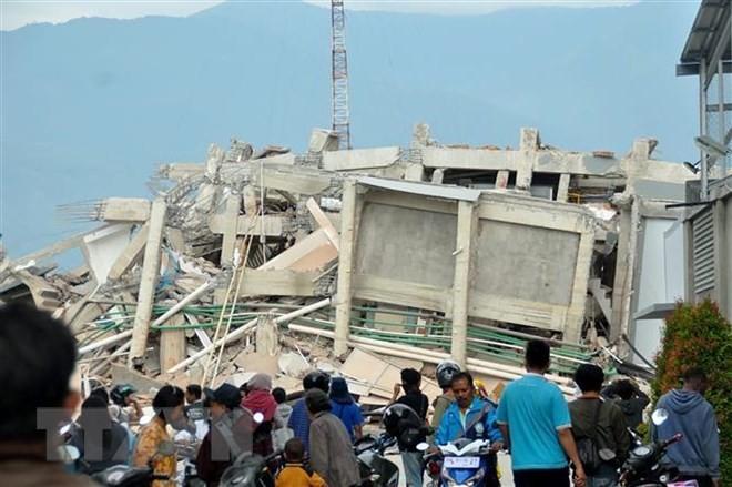 ประชาคมระหว่างประเทศให้การช่วยเหลืออินโดนีเซียแก้ไขผลเสียหายจากเหตุแผ่นดินไหวและคลื่นสึนามิ - ảnh 1