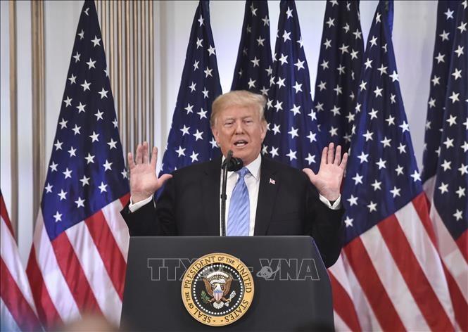 ประธานาธิบดีสหรัฐประกาศแผนลงนามข้อตกลง NAFTA ใหม่ - ảnh 1