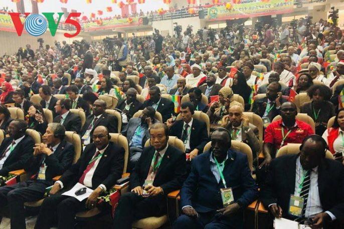 เวียดนามเข้าร่วมการประชุมใหญ่ครั้งที่ 11 พรรคร่วมรัฐบาลเอธิโอเปีย - ảnh 1