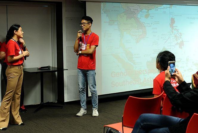 การสนทนาเยาวชนอาเซียนเกี่ยวกับความเสมอภาคทางเพศ เยาวชนคือปัจจัยส่งเสริมความเสมอภาคทางเพศในภูมิภาค - ảnh 1