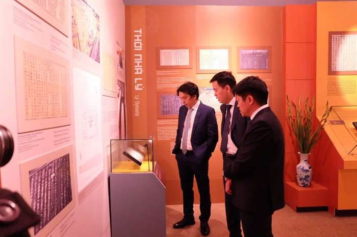 """งานนิทรรศการ """"หว่างแถ่งทังลองจากแผ่นแม่พิมพ์ไม้ของราชวงศ์เหงวียน – มรดกด้านข้อมูลของโลก"""" - ảnh 1"""