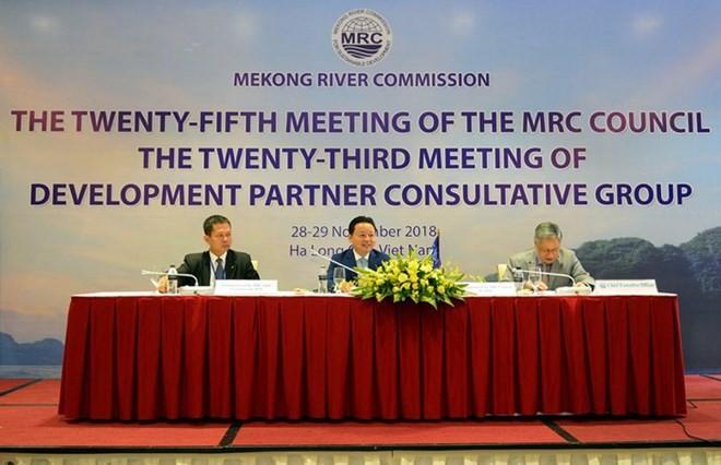 การประชุมสภาคณะกรรมการลุ่มแม่น้ำโขงระหว่างประเทศครั้งที่ 25 - ảnh 1
