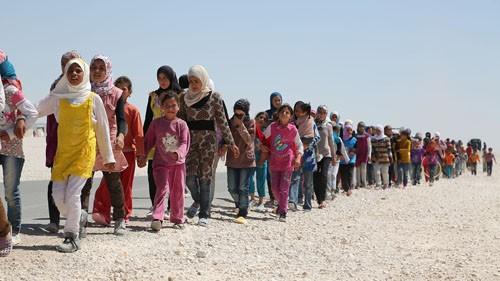 สหประชาชาติมีความวิตกกังวลเกี่ยวกับกระแสผู้ลี้ภัยในซีเรีย - ảnh 1