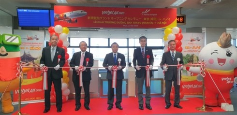 สายการบิน Vietjet Air เปิดเส้นทางบินตรงระหว่างกรุงฮานอยกับกรุงโตเกียว - ảnh 1