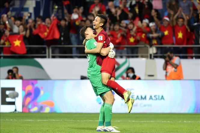 สื่อต่างประเทศชื่นชมทีมชาติเวียดนามที่สามารถผ่านเข้ารอบ 8 ทีมสุดท้ายฟุตบอลเอเชียนคัพ2019 - ảnh 1