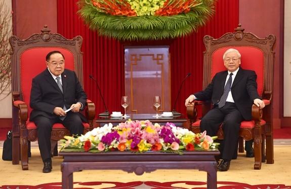 ประมวลความสัมพันธ์ระหว่างเวียดนามกับไทยประจำเดือนมกราคม - ảnh 1