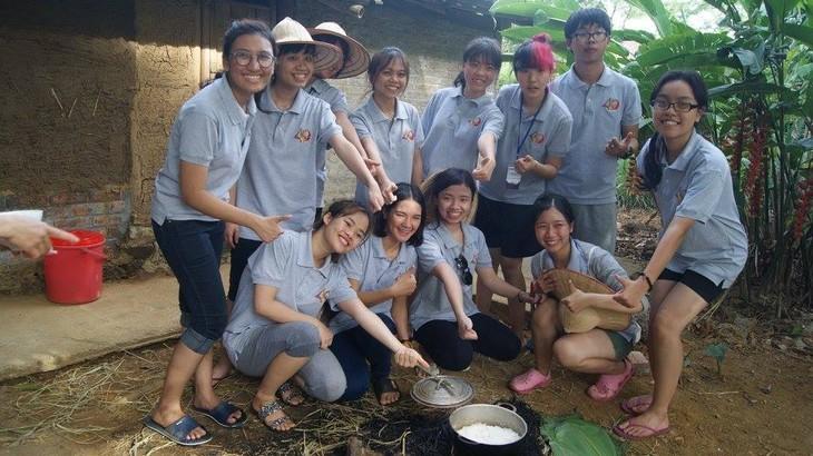 เยาวชนไทยกับอาหารและภาษาเวียดนาม - ảnh 5