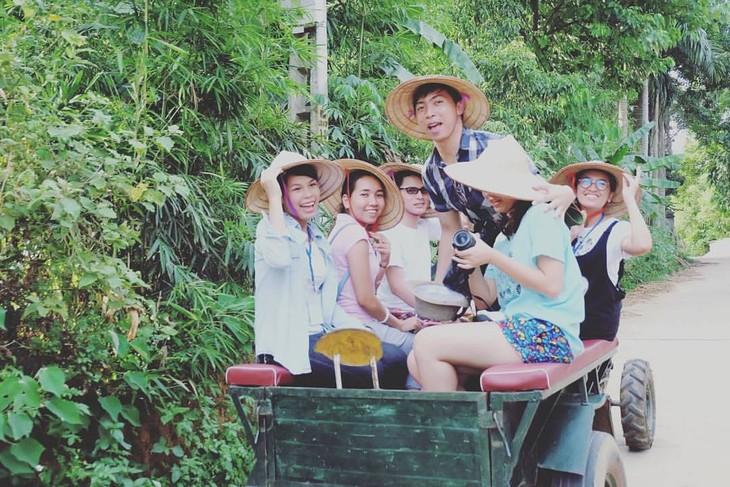 เยาวชนไทยกับอาหารและภาษาเวียดนาม - ảnh 4