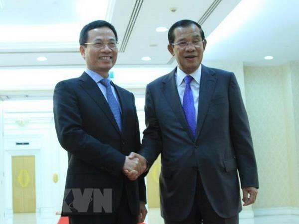 เวียดนามและกัมพูชากระชับความร่วมมือด้านสื่อมวลชนและโทรคมนาคม - ảnh 1