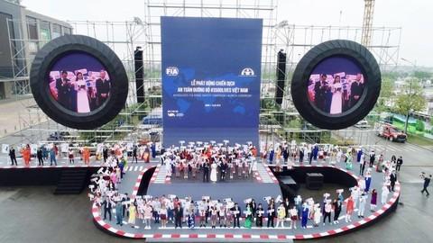 เปิดการรณรงค์ระดับโลกเพื่อความปลอดภัยด้านการจราจรในเวียดนาม - ảnh 1