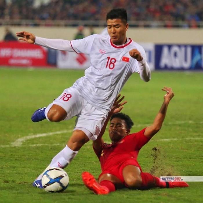 การแข่งขันฟุตบอลยู-23 ชิงแชมป์เอเชีย 2020 รอบคัดเลือก กลุ่มเค เวียดนามเอาชนะอินโดนีเซีย 1 ประตูต่อ 0 - ảnh 1