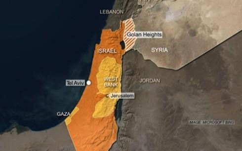 สหรัฐรับรองอธิปไตยของอิสราเอลเหนือเขตที่ราบสูงโกลันอย่างเป็นทางการ - ảnh 1