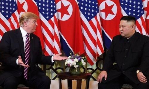 ผู้นำสหรัฐ-สาธารณรัฐประชาธิปไตยประชาชนเกาหลีอาจมีการพบปะกันอีกเร็วๆนี้ - ảnh 1
