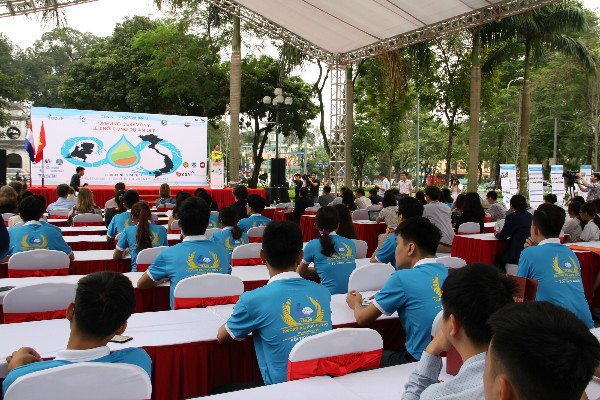 """เริ่มโครงการ """"อากาศเวียดนาม – ความร่วมมือด้านการศึกษาเพื่อการเปลี่ยนแปลงอย่างยั่งยืนในเขตที่ราบต่างๆ"""" - ảnh 1"""