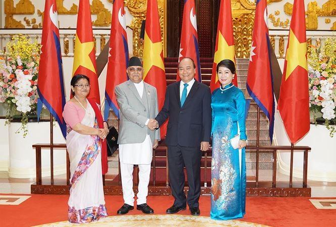 เวียดนาม-เนปาลออกแถลงการณ์ร่วม - ảnh 1