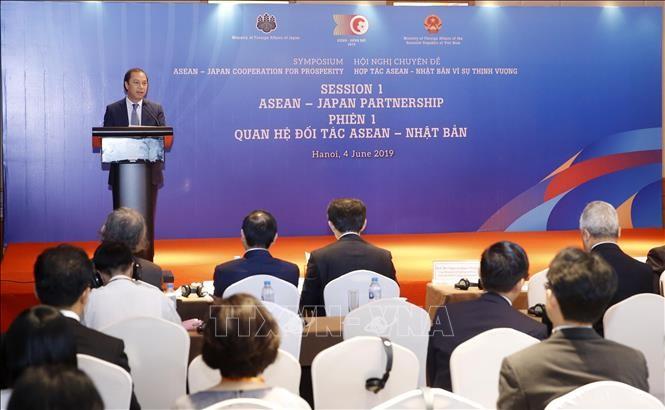 อาเซียน-ญี่ปุ่นร่วมมือเพื่อความเจริญรุ่งเรือง - ảnh 1